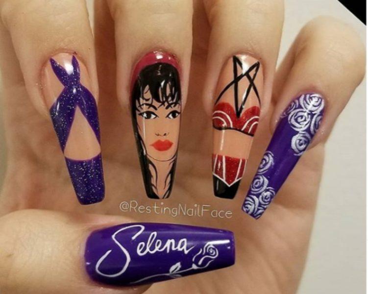 24 Photos Of The Most Fabulous Selena Quintanilla Inspired Nails